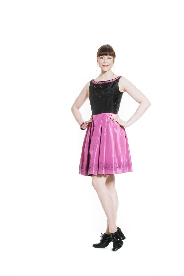 Cocktailkleid pink Diamond Ansicht 1