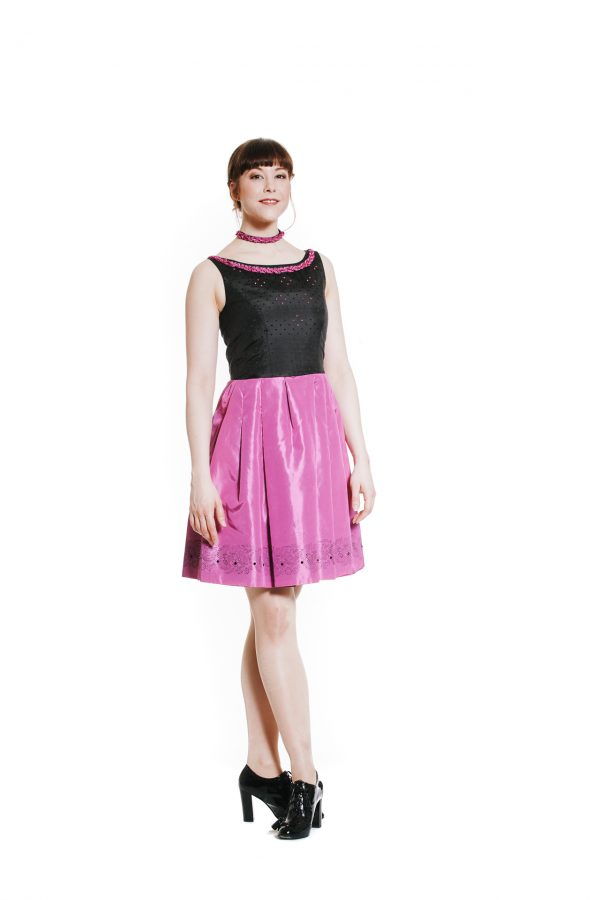 Cocktailkleid pink Diamond Ansicht 2