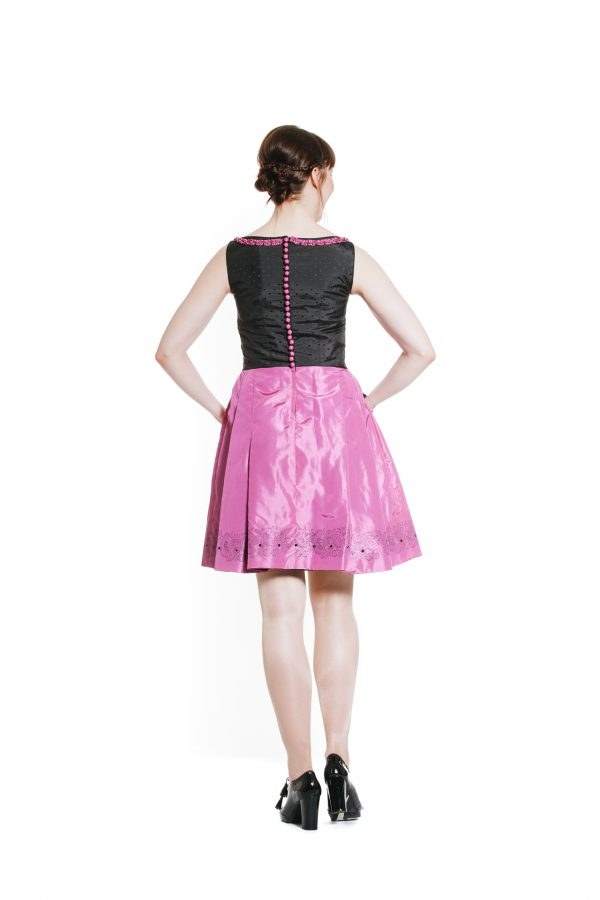 Cocktailkleid pink Diamond Ansicht 3