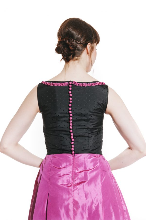 Cocktailkleid pink Diamond Ansicht 4