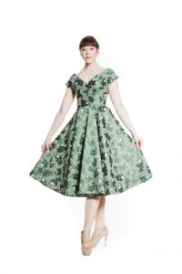 50s Kleid Ansicht 1
